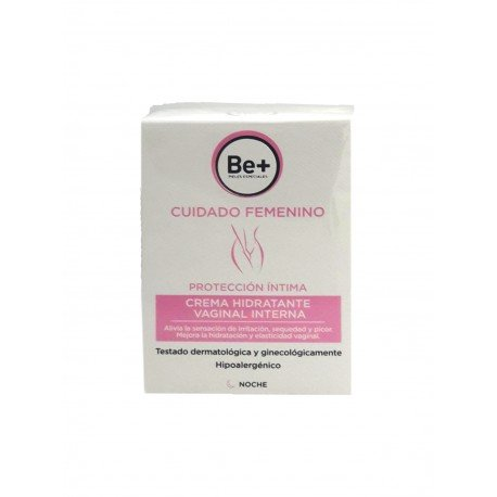 BE+ Hydrate VAGINAL INTER 8 x 6 ml nacht