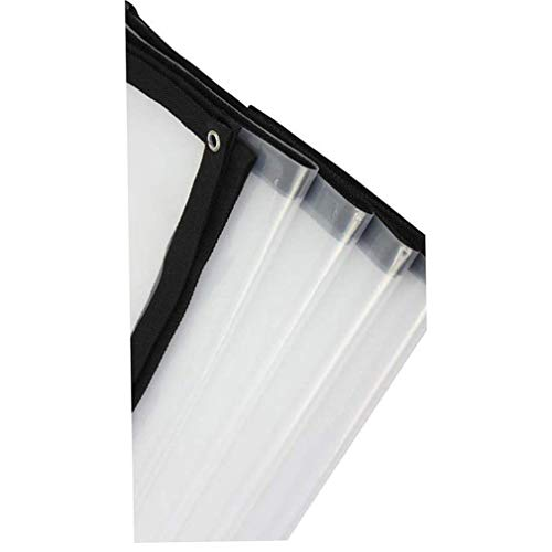 SACYSAC Transparante luier plastic vel balkon beschutting regen en winddichte isolatie dekzeil