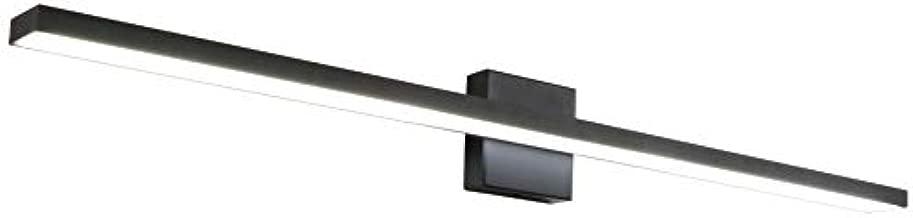 Ralbay 40inch Black LED Modern Vanity Light 35W Frosted Aluminum for Bathroom Vanity Lighting Fixtures Cool White 6000K