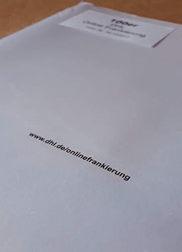 Für DHL-Onlinefrankierung: 20 Stück Klebeetiketten / Paketlabel / Paketaufkleber / Versandlabel / Paketetiketten