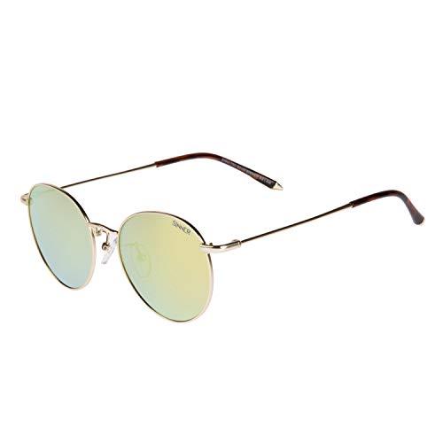 SINNER Zonnebril Heren & Dames in Verschillende Kleuren - Metaal Unisex Pilotenbril Retro Look & Vintage Design - met 100% UV400 Vescherming & Niet-Gepolariseerd
