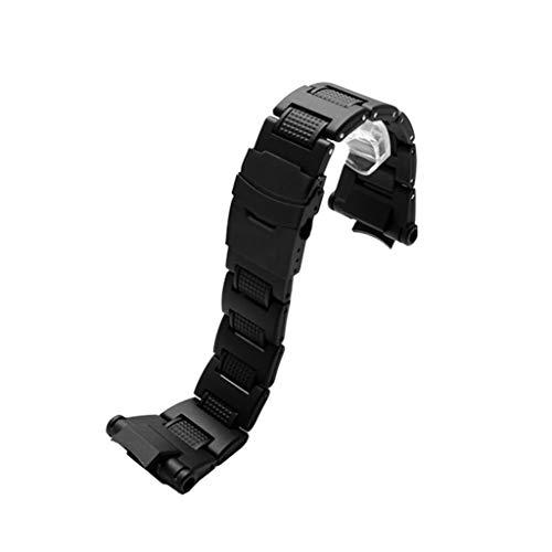 BASSK Reemplazo de Pulsera de Correa de Reloj de Metal de Pulsera de Acero Inoxidable para Casio G-Shock GW-A1100 GW-A1000 GW-4000 Accesorios