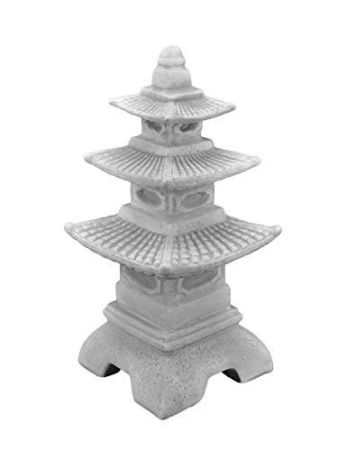 Unbekannt Figur japanische Laterne H 47 cm Gartendeko aus Beton
