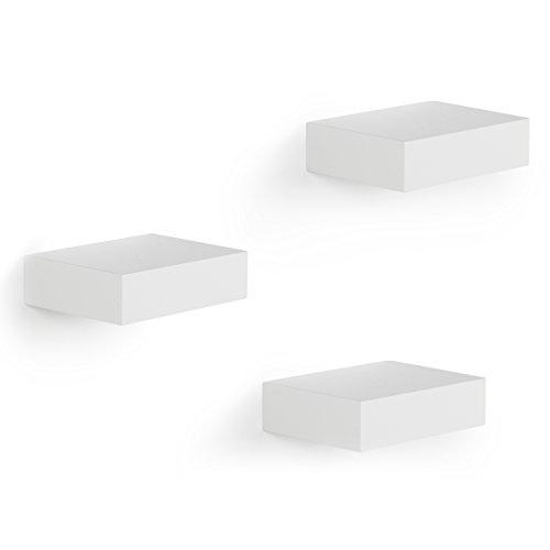 SHOWCASE SHELVES WHITE