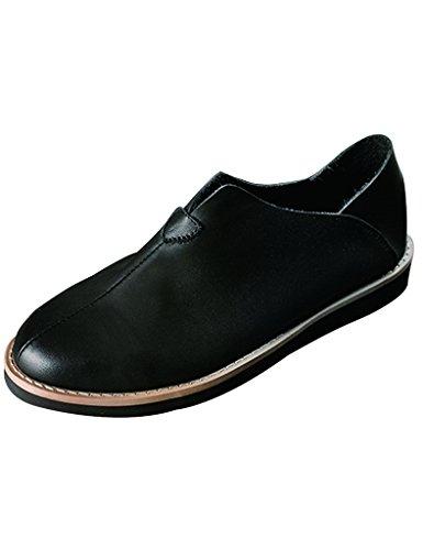 Youlee Mujer Hecho Mano Mocasines Retro Los Zapatos