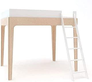 Perch Full Size Loft Bed - White/Birch