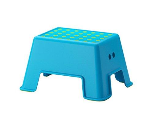 Ikea Bolmen - Taburete de escalón de 22,88 cm, Color Azul