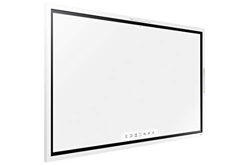 Samsung Monitor Flip WM55R Monitor Lavagna Interattiva per Meeting Room da 55'', UHD 3840 x 2160, Penna Touchscreen e Cavo Touch Inclusi, Grigio Chiaro