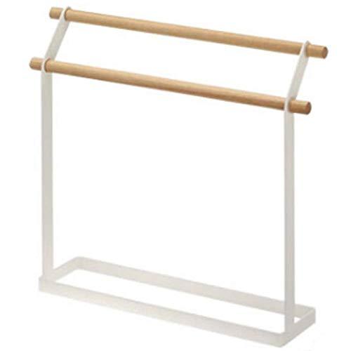 MXL Towel rack, floor design, iron grid paint not easy to rust, easy to move, suitable for outdoor bedrooms, bathrooms, etc.29 * 8 * 33.5cm