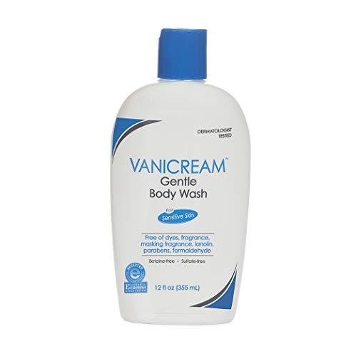 Vanicream Gentle Body Wash | Fragrance, Gluten and Sulfate Free | For Sensitive Skin | 12 Fl Oz
