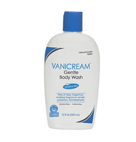 Vanicream Gentle Body Wash | Fragrance, Gluten and Sulfate Free | For Sensitive Skin | 12 Fl Oz