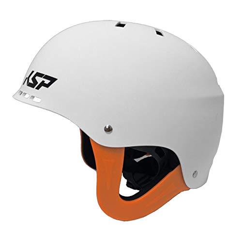 KSP Bullet Helm zugelassen für Kitesurf Surf Windsurf Sport Wassersport White, Small/Medium