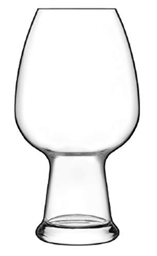 Luigi Bormioli Birrateque - Set di 6 bicchieri da birra in cristallo