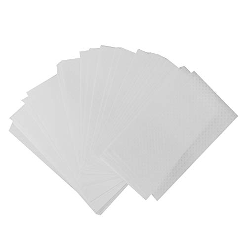 500Pcs Perm End Paper, Professional Jetable Salon Crystal Hair Perm Paper Hair Curling Paper Hairdressing for Color Treated, Thin or Delicated Hair