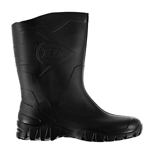 Dunlop Welly Wellies Wellington - Botas de agua para hombre, color negro,...
