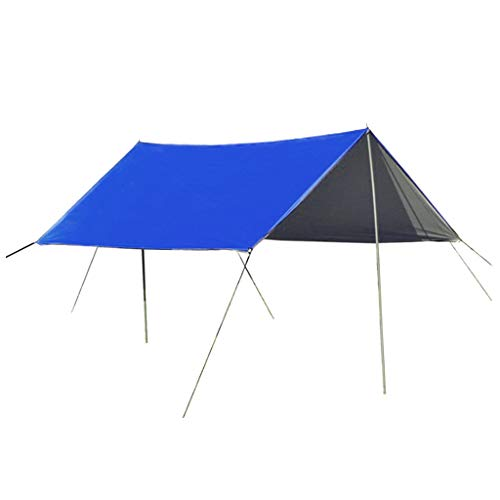 Injoyo Gazebo Plegable de 3x3 m, Carpa de jardín, Carpa Impermeable, protección UV para recepción, Exterior, pabellón cenador de jardín - Azul