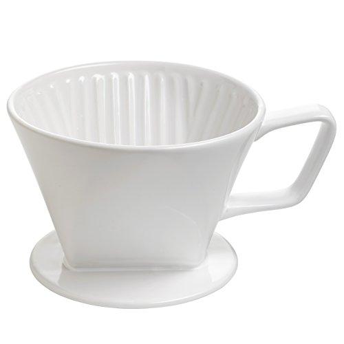 Maxwell & Williams IT51016  Kaffee Filter, Keramik, weiß, 185 x 140 x 110 mm