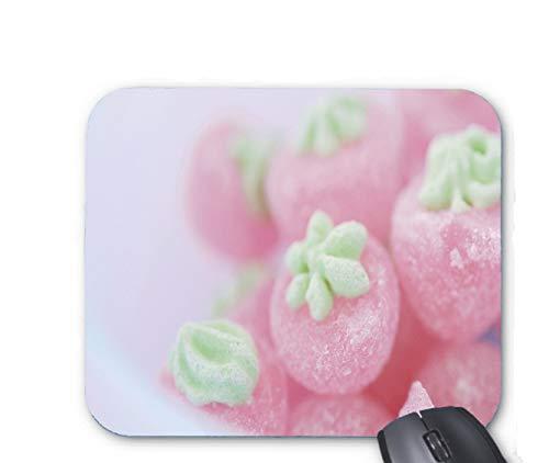 Rosa Erdbeer-Bonbon-Mauspad