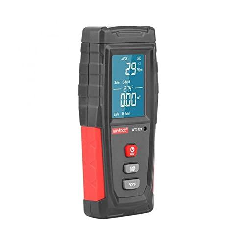 liuchenmaoyi FEM Meter Elektromagnetischer Feldstrahlungsdetektor-Tester EMF-Meter wiederaufladbares Handheld-tragbarer Gegenemissionsdosimeter FEM-Schutz (Color : Picture)