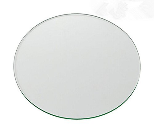 Wisamic Clear Circle Borosilicate Glass for 3d Printers Borosilicate Glass Platform for Afinia and UP! 3D Printers 120 * 3mm