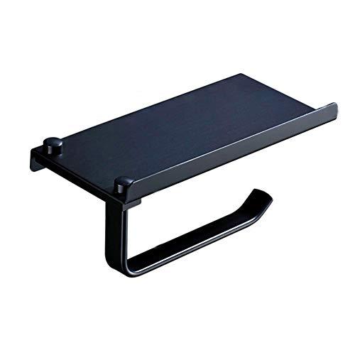 LANKOULI Tissue Box Multifunktions-Aluminium-Raum Toilettenpapier Badregale Handtuchhalter Telefonhalter Badzubehör Papierhalter