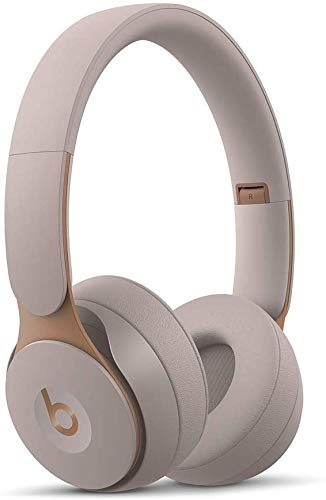 Beats S0L0 Pro Wireless Noise Cancelling On-Ear Headphones with Carrying Case and Cables (Gray)