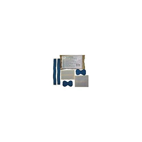 LEINA-WERKE 75100 Pflasterset 40-teilig, elastisch/wasserfest, blau