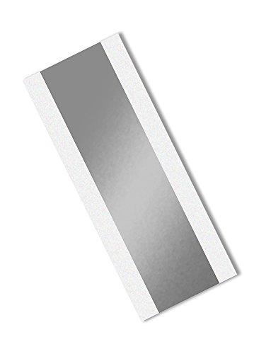 TapeCase 363 5,1 cm x 26,7 cm 25 zilver aluminium folie/glazen doek/siliconen 3M 361 hogetemperatuurplakband, -65 graden F tot 600 graden F, 26,7 cm lengte, 5,1 cm breedte, 25 stuks