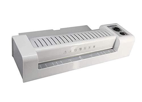 ZGYQGOO Laminiergerät A4 Fotolaminiermaschine Vollautomatischer Rücklauf-Heiß- Und Kaltlaminator Mit Entriegelungsfunktion Für Die Home Office School