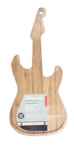 Kikkerland Planche à découper guitare électrique