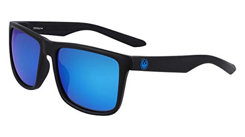 Dragon Dr Meridien Ll H2o Gafas de Sol, Color Negro Mate, Taille Unique para Hombre