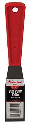 Red Devil 4701 1.25-Inch Stiff Metal Putty Knife