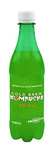 Prokey Kefir De Agua Probiótico Bio, Cold Brew Kombucha caja de 16 botellas de 500 ml