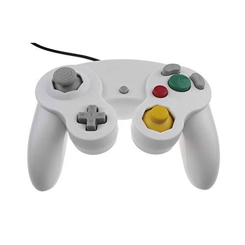 Kajiali Controlador de Juegos para Nintendo GC y Wii U, Joystick clásico NGC con Cable (7 Tipos de Color)