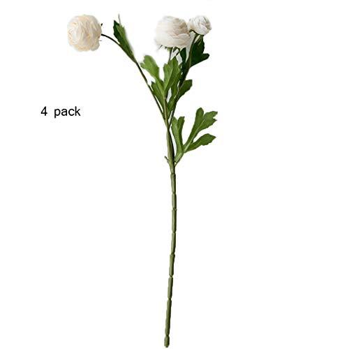 Sarazong Bouton Floral Fleur Artificielle Faux Fleur Fleur de Haute qualité Bourgeon Artificiel Fleur, Fleur éternelle Décoration de Plancher Arrangement de Fleurs Faux Fleurs,C
