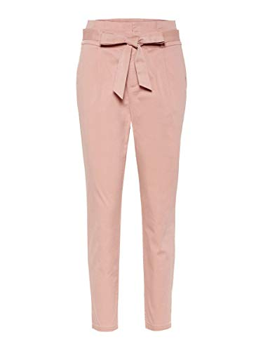 VERO MODA Female Hose High Waist Paperbag M30Misty Rose
