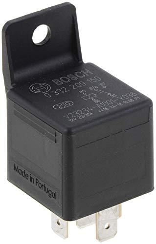 Bosch 0332209150 Mini-Relais 12V 30A, IP5K4, Betriebstemperatur von -40° C bis 100° C, Wechselrelais, 5 Pin Relais
