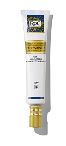 RoC Retinol Correxion Deep Wrinkle Daily Moisturizer with SPF 30 & Vitamin E, 1 Ounce