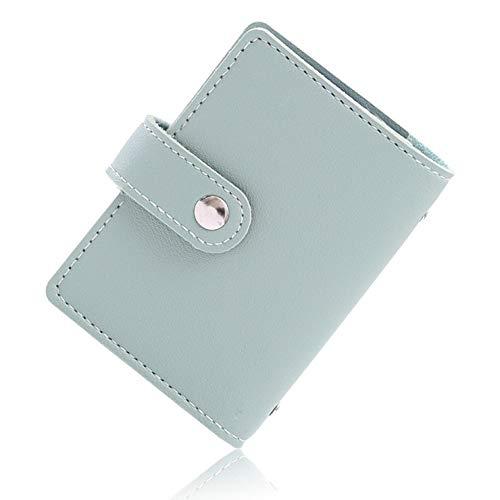 VOLAN スキミング 防止 カード ケース RFID ブロック 24枚 収納 クレジット カード入れ ホルダー メンズ レディース CARD CASE 6カラー (グリーン)