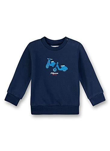 Sanetta Baby-Jungen Fiftyseven Sweatshirt, Blau (Blau 5993), 92 (Herstellergröße: 092)