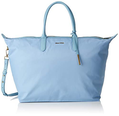 Marc O'Polo Damen Marina Umhängetasche, Blau (Sky Blue), 20x39x65 cm