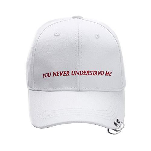 Sombrero de adulto Gorra de béisbol Sombrero ajustable al aire libre Sombrero...