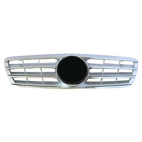 LHZBB Accesorios para carrocería de Coche, Parrillas de radiador para Mercedes para Benz Clase C W203 W204 C280 C320 C240 C200 C180 C200 C200 C260 C63 2000-2006 Rejilla Frontal de Coche