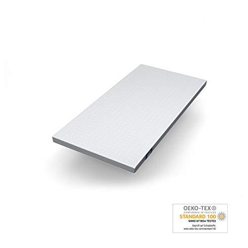 Genius Eazzzy Topper (100 x 200 x 7 cm) als Matratzenauflage für Matratzen & Boxspringbetten | Viskoelastischer Matratzentopper für Allergiker (weitere Größen erhältlich)