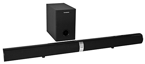 Telefunken SBS100W TV-Soundbar (mit kabellosem Subwoofer, Bluetooth, 2x Audio-In, 80 Watt)
