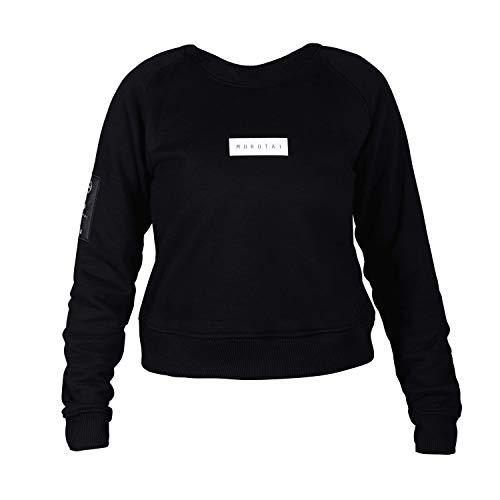 MOROTAI Damska bluza NAKA L Bloc Logo czarna XL