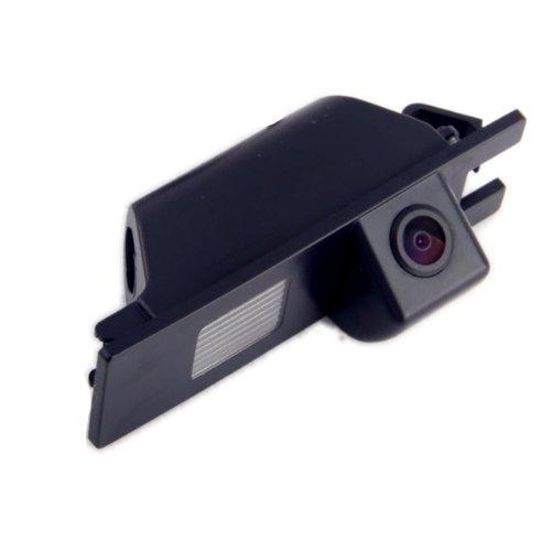 Akhan CAM24-2 - Farb Rückfahrkamera, Einparkhilfe, Kamera für Nummerschildbeleuchtung, Kennzeichenbeleuchtung