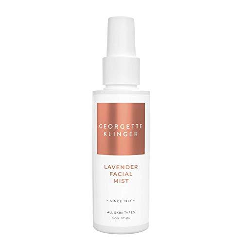 Lavender Facial Mist & Makeup Setting Spray by Georgette Klinger - Long Lasting Hydrating Toner Face Mist w/ Aloe Vera & Witch Hazel for All Skin Types