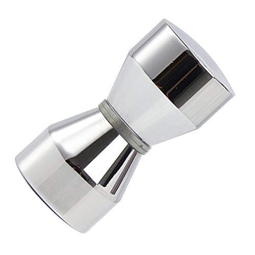 Aleación Zinc Vidrio Abrazaderas Soporte Cristal Clip de Espejo Abrazaderas para Barandilla...