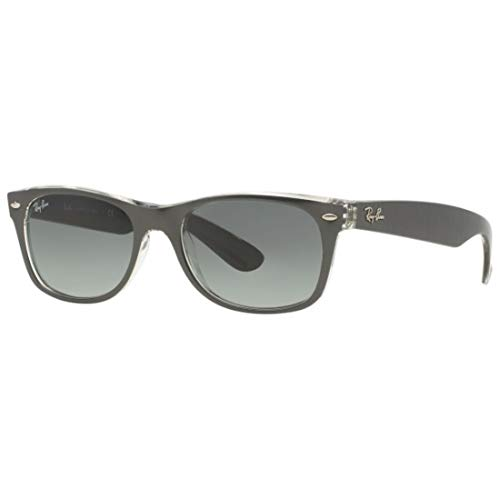 Ray-Ban RB2132 New Wayfarer 614371 - Gafas de sol (55 mm), color gris